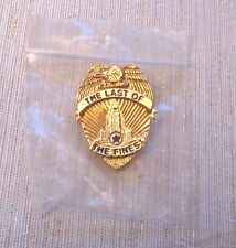 RARE 1990 THE LAST OF THE FINEST METAL MOVIE PROMO BADGE PIN - BLUE HEAT PIN
