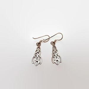 Sterling-Silver-Celtic-Knot-Earrings