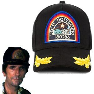 Alien-Nostromo-USCSS-Hat-Mens-Applique-Patch-Cap-Navy-Military-Brett-Embroidery