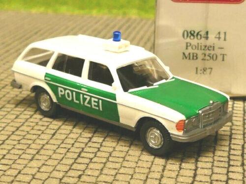 1//87 Wiking MB 250T Polizei 0864 41
