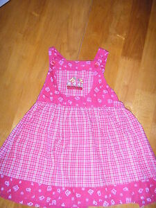 BABY-GIRLS-RED-DRESS-AGE-18-23-MONTHS