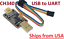 US Stock USB 2.0 to Serial UART Converter with cables CH340G New