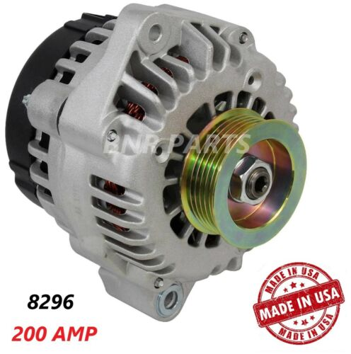 200 AMP 8296 Alternator Honda  Accord 2003 V6 3.0L High Output HD Performance US