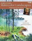 Simplified Watercolor Landscapes (Leisure Arts #22659) by Kooler Design Studio (Book, 2008)
