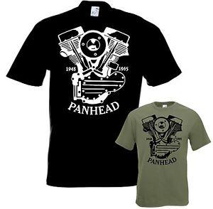 Biker-T-Shirt-PANHEAD-Motorrad-tshirt-Chopper-Bobber-Gr-S-bis-5XL