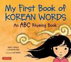 My First Book of Korean Words von Kyubyong Park (2012, Gebundene Ausgabe)
