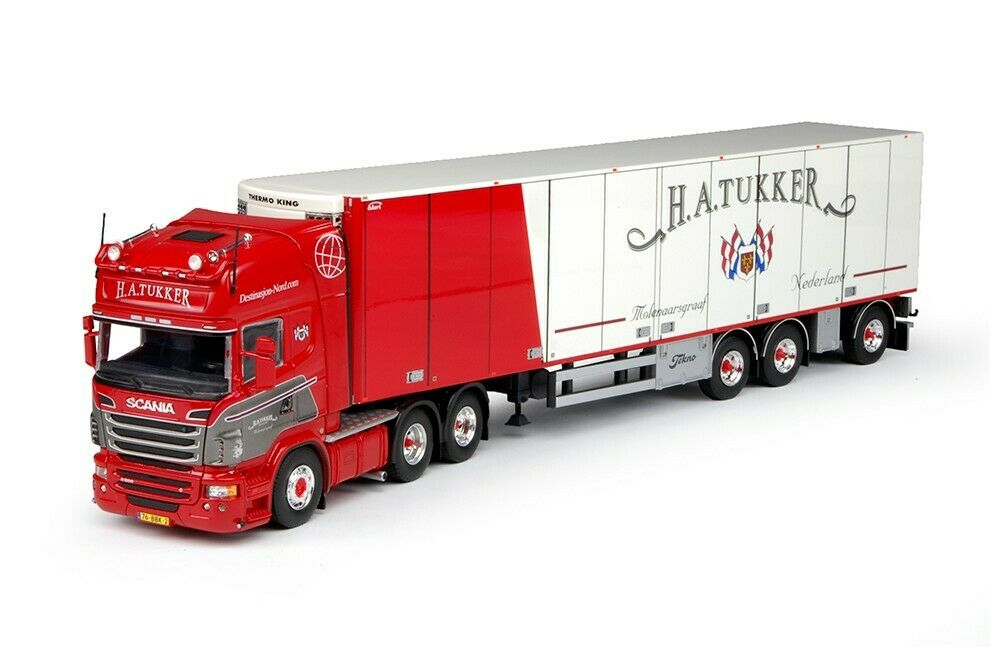Scania  R Series Topline-Refrigerated Trailer H.A. tukker transport 67958 degree 1 50  pas de taxes