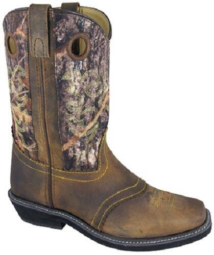 ¡Nuevo  Mujer Smoky Mountain Mountain Mountain botas - Cowboy Del Oeste -11  Marrón Camuflaje  auténtico