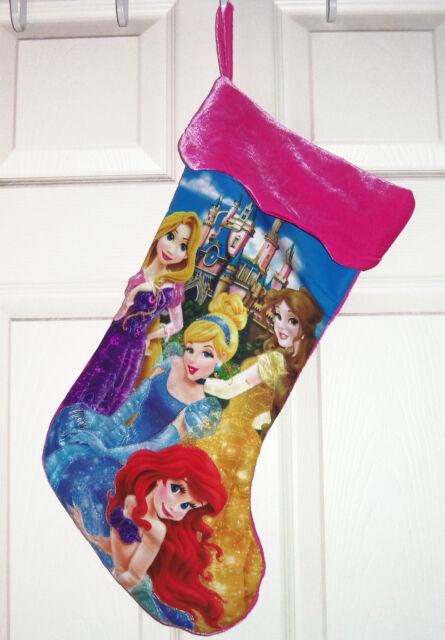 Disney Christmas Holiday Stocking Cinderella or Rapunzel