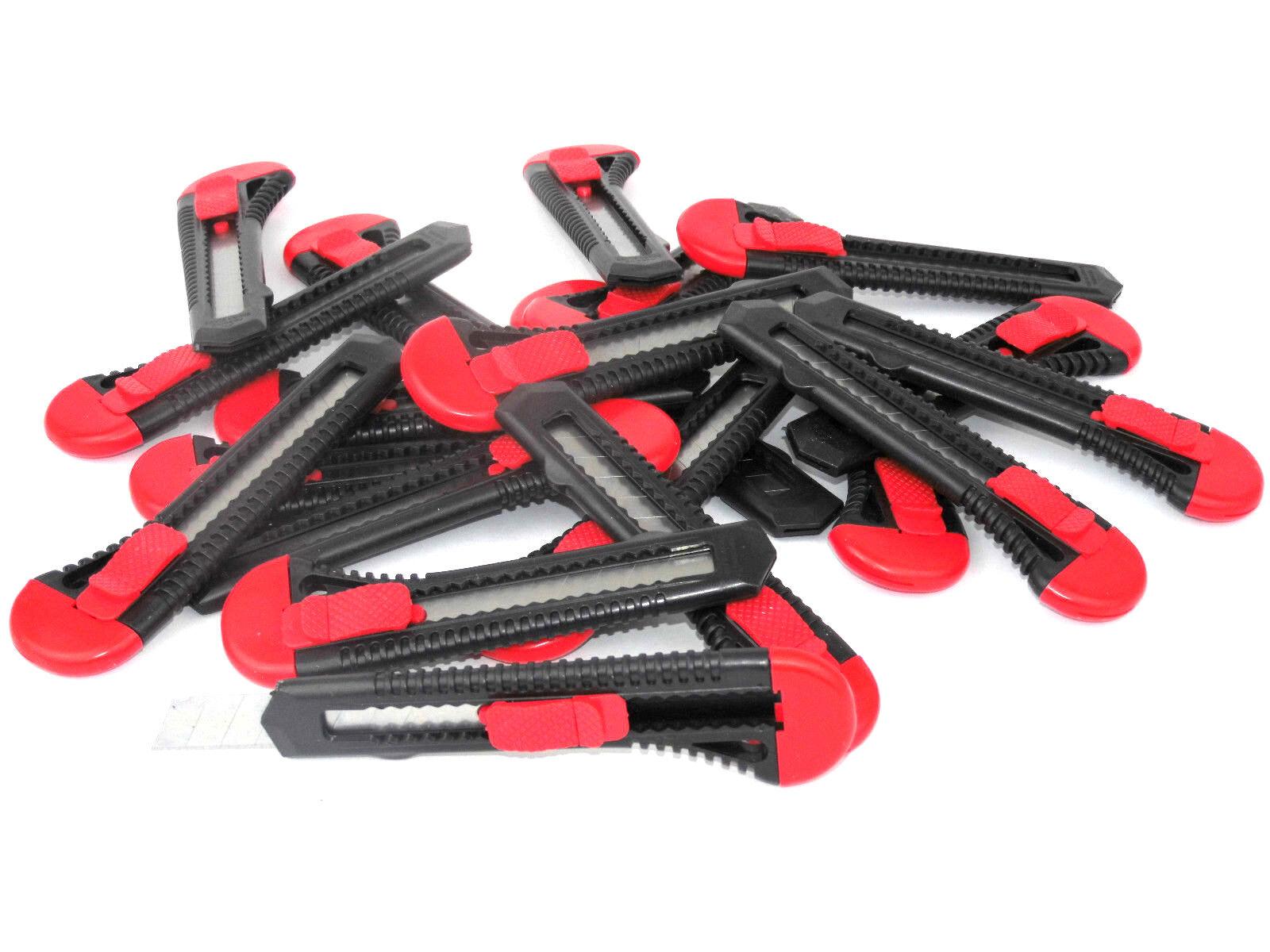 Cuttermesser 18mm 1-480 Stk Universal Cutter Teppichmesser Abbrechmesser Messer