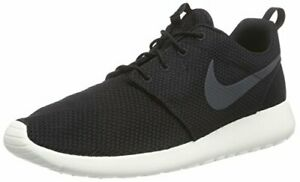 Nike-Roshe-One-S-Black-Anthracite-Sail-Men-039-s-Size-8-511811-010