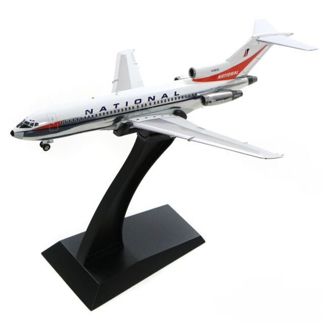 Pan Am Models PAA0910A National Airlines Boeing 727-035 N4622 Diecast Jet Plane