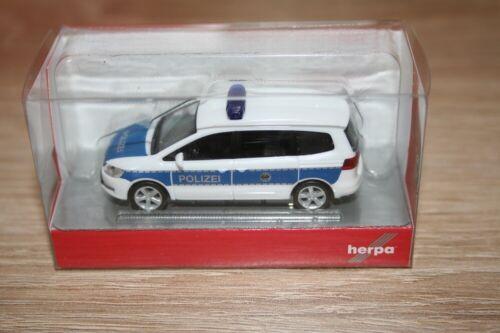 "Herpa 094283-1//87 VW Sharan /""Bundespolizei/"" Neu"