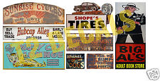 HO Scale Skid Row Structure/Building Decals #5
