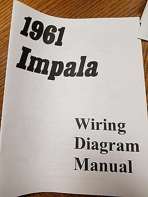New 1961 Chevy Impala, Belair or Biscayne Wiring Diagram ...