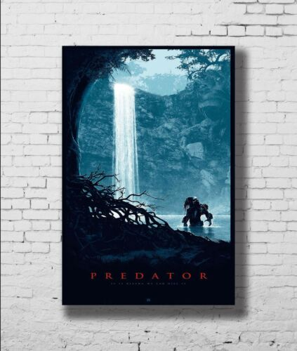 Predator 2 Classic Horror Vintage New Print Poster 12x18 24x36 27x40 P-395