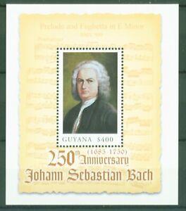 Guyana-2000-J-S-Bach-BWV-900-Praeludium-und-Fughetta-in-e-Moll-Block-678