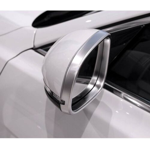 Side View Mirror Glass Cover Protect Frame fit For Jaguar XE XF XJ 2016-2018