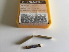 Kennametal Gc4125 Cutoffgrooving Series Kc730 Inserts5 Inserts As Shown