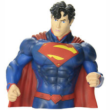 DC Comics New 52 Superman Bust Bank NEW Coin Bank Figure Statue Detailed Toys
