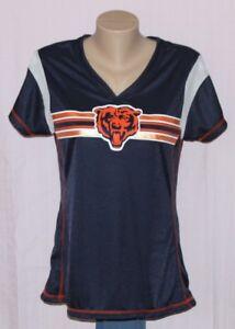 Chicago Bears Womens Jersey T Shirt Navy NFL | eBay