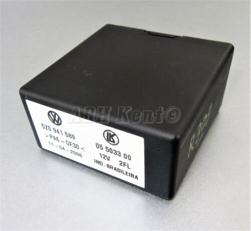 303-VW Lupo Fox Seat Arosa Control Unit Light Relay Module 5Z0941589 05503300