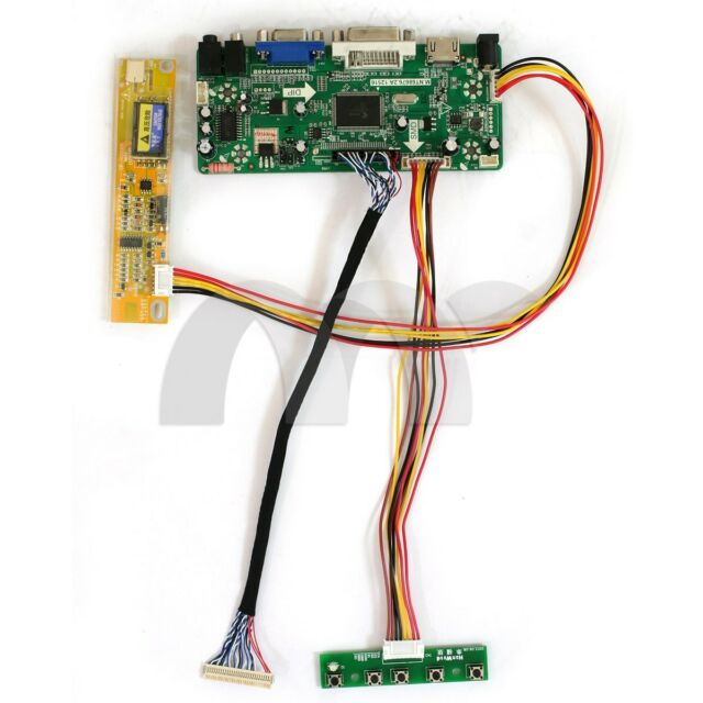 HDMI USB AV VGA ATV LCD Driver Board Kit for 17inch LTN170WX-L01 1440X900 Panel