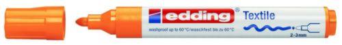 2-3 mm,neonorange 5er-Sparpack edding 4500 Textil-Marker