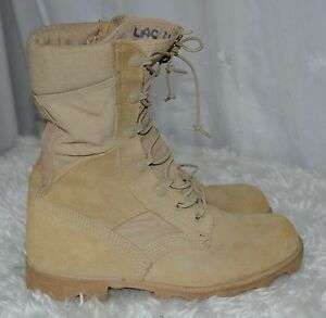 Used-Canadian-military-desert-combat-boots-size-6W-wide-B-8