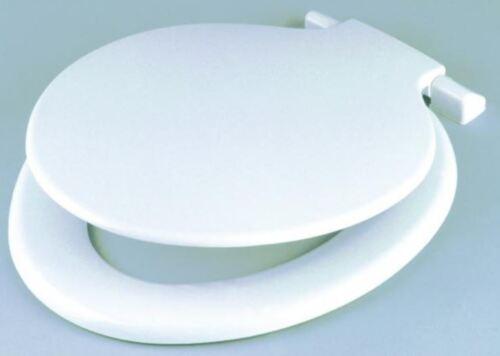 Celmac Calypso White Toilet Seat Plastic Hinges