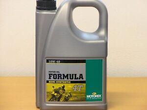 9-23-l-Motorex-Formula-4T-10W-40-4-L-teilsyn-Motorol