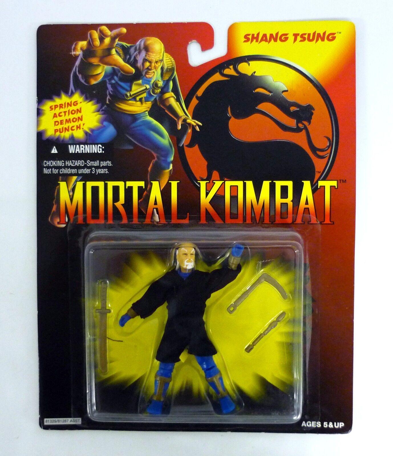 MORTAL KOMBAT SHANG TSUNG Vintage GI Joe Action Figure MOC COMPLETE 1994