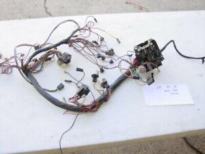 82-86 jeep cj under dash wiring harness 6 pin plug 6 cyl | ebay  ebay