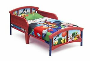 Delta Children Plastic Toddler Bed, Disney Mickey Mouse ...