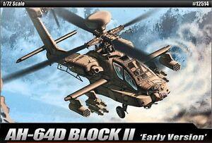 MODEL-KIT-ACA12514-Academy-1-72-Hughes-AH-64D-Apache-Block-II