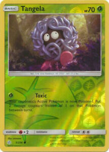 Tangela 5//236 S/&M Cosmic Eclipse REVERSE HOLO PERFECT MINT Pokemon