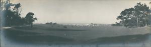 USA-Pasadena-California-Panoramic-view-Vintage-silver-print-Panoramic-View