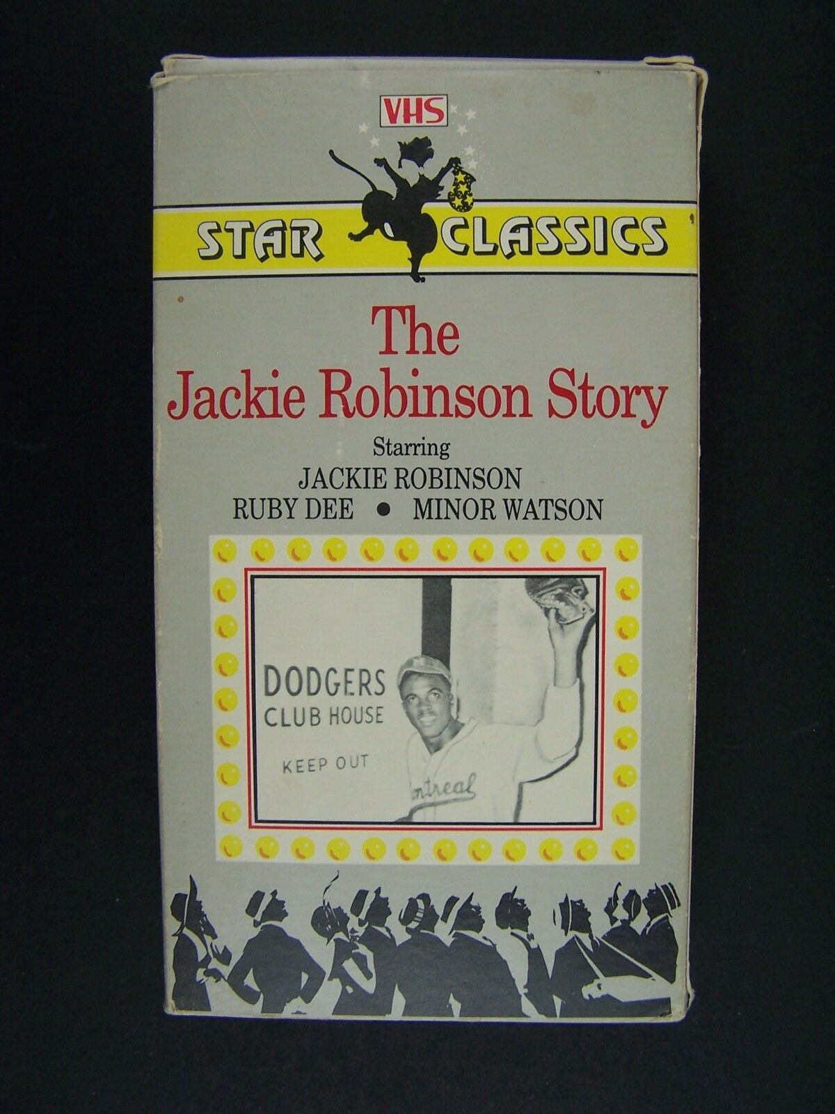 The Jackie Robinson Story VHS 10397032317