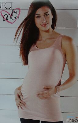 NEU Umstandstop Maternity Top Shirt rosa esmara for mums Longtop M 40/42