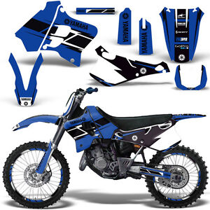 Yamaha-YZ125-YZ250-Graphic-Kit-MX-Dirt-Bike-YZ-125-250-1993-1995-HURRICANE-BLUE