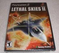 Ps 2 Lethal Skies Ii Video Game Brand Factory Sealed