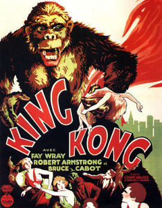 "100% De Qualité King Kong Affiche Réplique 14 X 11 "" Photo Imprimé"