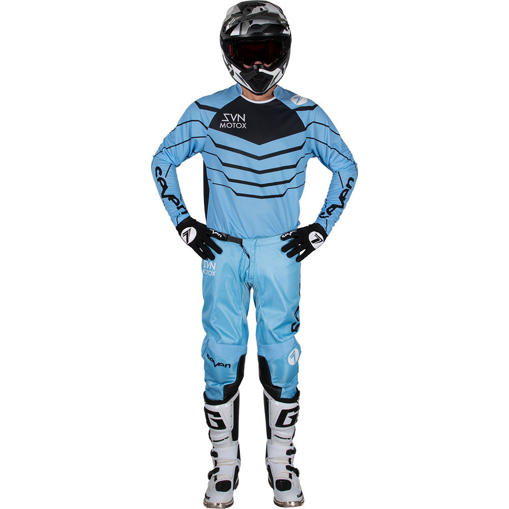 Seven Mx 2019 19.1 Youth Annex Exo Blue/Black Mx Kit Enduro Combo