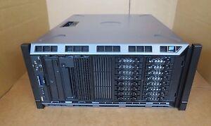 "Dell PowerEdge T430 Rack Server 2 x Six-Core E5-2620v3 128GB 16x2.5"" H730 LTO-4"