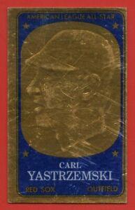 1965-Topps-Embossed-1-Carl-Yastrzemski-VG-VGEX-SCRATCHED-Boston-Red-Sox-HOF