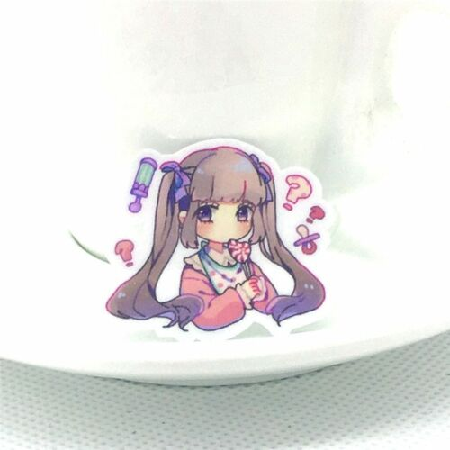 40Pcs Anime girl sticker scrapbooking for Laptop Phone Luggage Skateboad Bicycle
