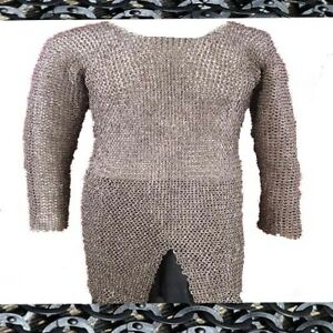 Chainmail-9-mm-Flat-Riveted-With-Flat-Washer-Large-Full-sleeve-Shirt
