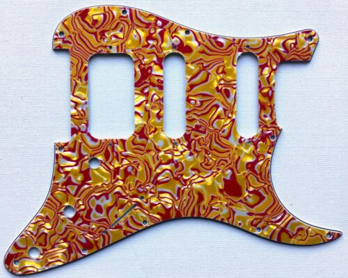 Stratocaster Open Humbucker HSS Pickguard 11 hole for US Strat various colours