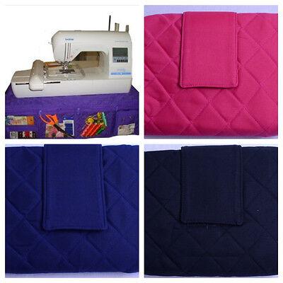 YAZZII - Sewing Machine Mat with Storage Pockets- BLACK Last One! -(CA575)