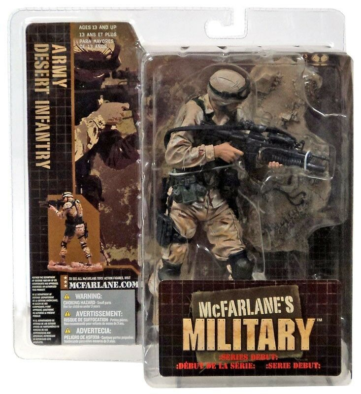 McFarlane Toys Military Army Desert Infantry Figure Action Figure Infantry c55fd1